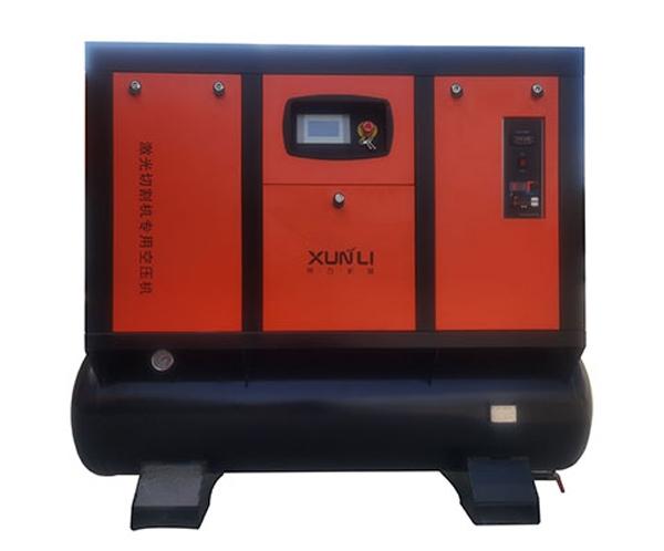 激光切割机配套1.5MPa永磁变频螺杆空压机