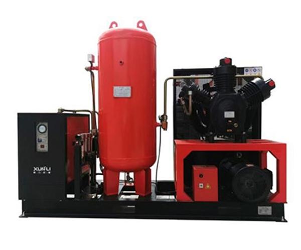 激光切割机配套3.0MPa四合一活塞式空压机